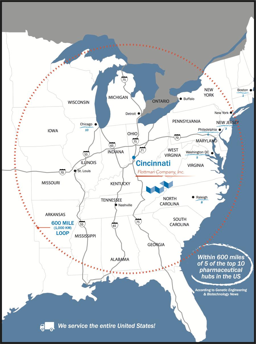 Flottman Company - Inserts - Cincinnati, Ohio