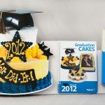 The success of Bakery Crafts 2012 graduation cake sales was enhanced by this three‐dimensional point‐ of‐purchase display that was placed in all their sales markets. (Click for Details)
