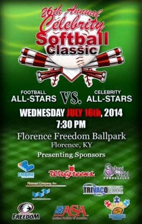 2014 Celebrity Softball Classic - Flottman Company
