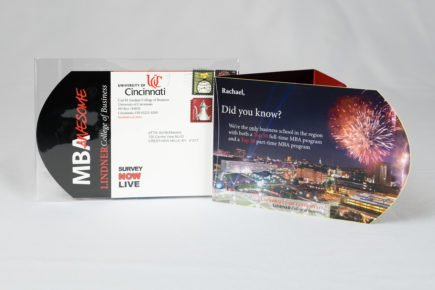 University of Cincinnati Dimensional Direct Mail