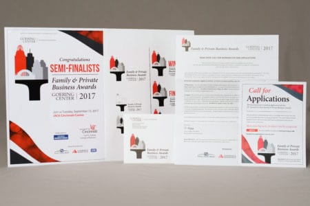 Commercial Printing - Goering Center Awards Event Materials