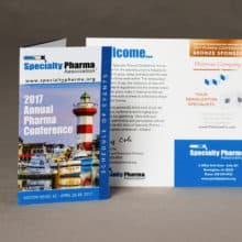 Conference Materials - Commercial Folded Printing