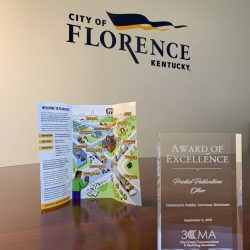City of Florence is a Savvy Award Winner!
