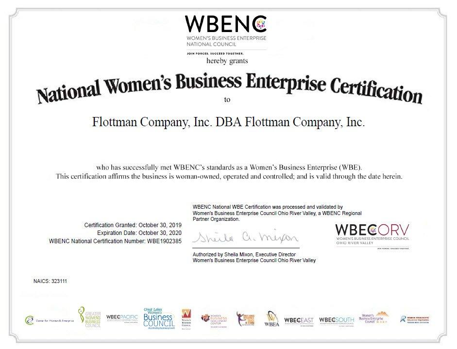 WBENC-Women's Business Enterprise