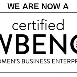 Flottman Company is now designated a Certified Women's Business Enterprise.