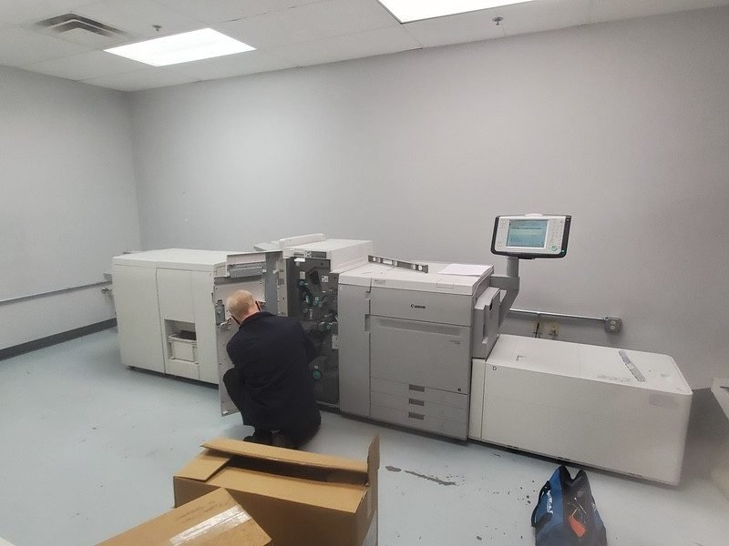 Canon imagePRESS - Flottman Company - Final Digital Printer Adjustments
