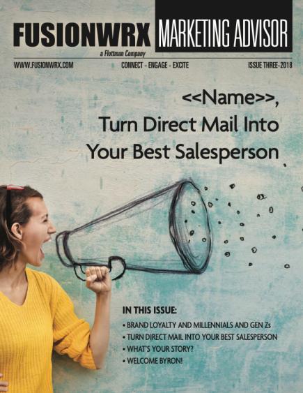 Marketing Advisor – 3rd Qtr, 2018