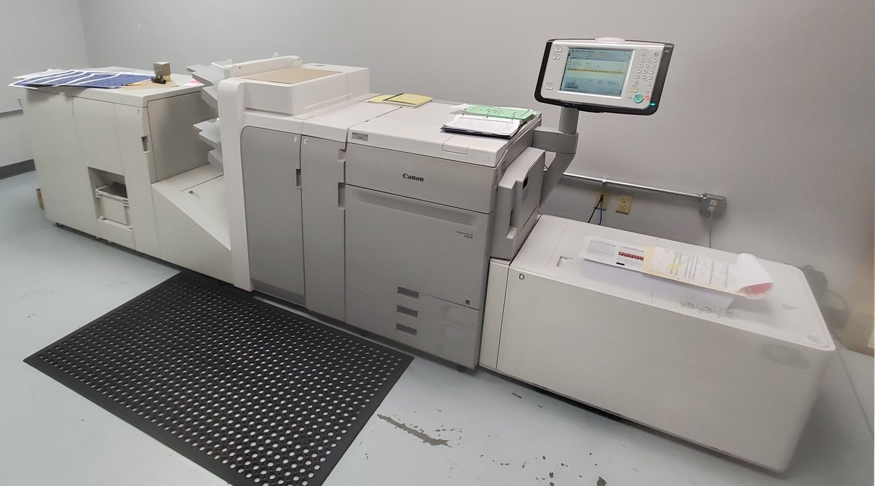NEW - Canon imagePRESS - Flottman Company - Digital Printer